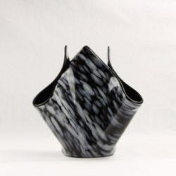 Drape Vase - Black Monterrey 1