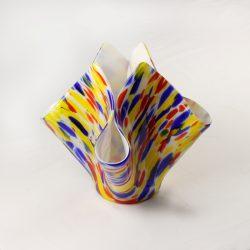 Glass Drape Vase Spectrum New Orleans 1