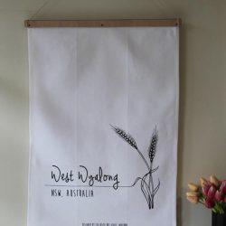 Exclusive Hot Glass - Tea Towel Wheat